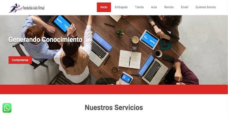 Página web FAV